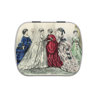 Vintages viktorianisches süßigkeitenbox