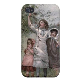 Vintages viktorianisches u niedlich BlackBerry-S iPhone 4 Hülle