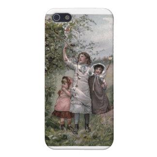 Vintages viktorianisches u. niedlich: iPhone 5 schutzhüllen
