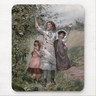 Vintages viktorianisches u. niedlich: mousepads