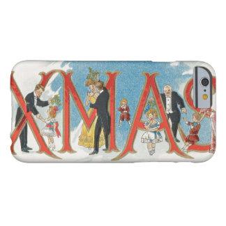 Vintages viktorianisches Weihnachten, ein Barely There iPhone 6 Hülle
