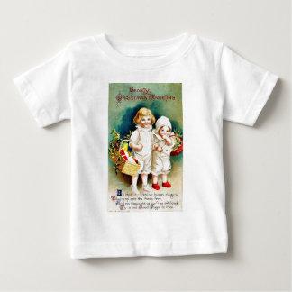 Vintages Weihnachten Baby T-shirt