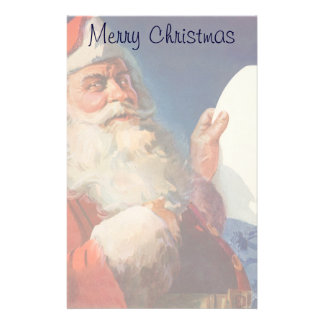 Vintages Weihnachten, freche Nizza Liste Briefpapier