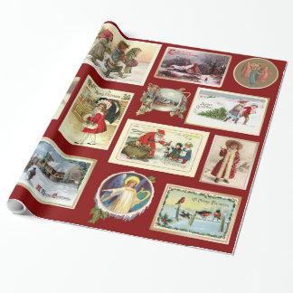 Vintages Weihnachten Geschenkpapier