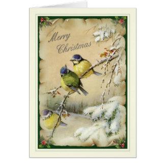 Vintages Weihnachten Grußkarten