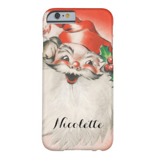 Vintages Weihnachten, lustiger Retro 50er Barely There iPhone 6 Hülle
