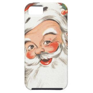 Vintages Weihnachten, lustiger Weihnachtsmann mit Etui Fürs iPhone 5