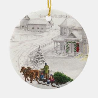 Vintages Weihnachten Weihnachtsornament