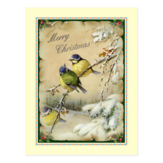 Vintages Weihnachten Postkarte