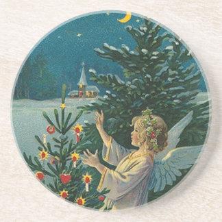 Vintages Weihnachten Untersatz