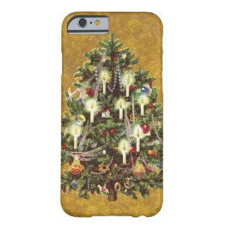 Vintages Weihnachten, verzierter viktorianischer Barely There iPhone 6 Hülle