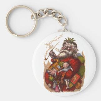 Vintages Weihnachten, viktorianische Schlüsselanhänger