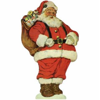 Vintages Weihnachten, viktorianischer Fotoskulptur Ornament