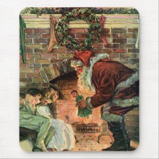 Vintages Weihnachten, viktorianischer Mousepad