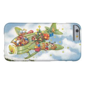 Vintages Weihnachten, Weihnachtsmann, der ein Barely There iPhone 6 Hülle