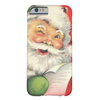 Vintages Weihnachten Weihnachtsmann Barely There iPhone 6 Hülle