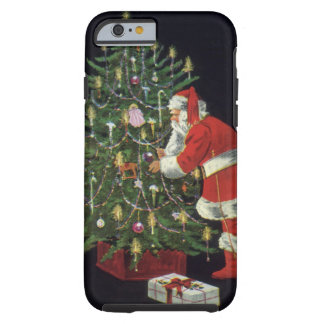 Vintages Weihnachten, Weihnachtsmann mit Tough iPhone 6 Hülle