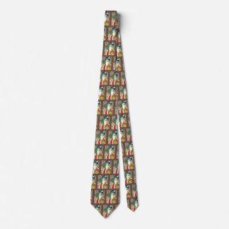 Vintages Weihnachten, Weihnachtsmann-Rotwild im Krawatte
