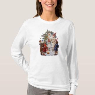 Vintages WeihnachtsLongsleeved Shirt