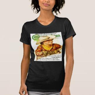 Vintages Welttitelseite(Cowgirl) T-Shirt