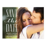 Vintages Whimsy | Foto Save the Date Postkarte