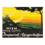 Vintages Wien Österreich Postkarte