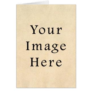 Vintages Wildleder-beige Karte