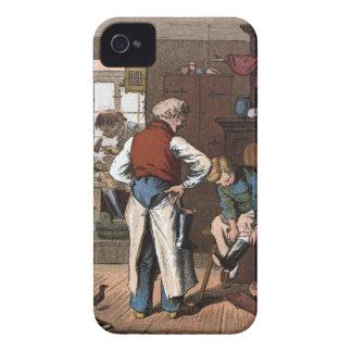 Vintages Zeichnen: Der Schuster iPhone 4 Cover