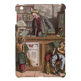 Vintages Zeichnen: Die antike Buchhandlung iPad Mini Hülle