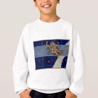 Vintages Zwillings-Stern-Diagramm Sweatshirt