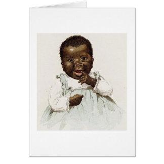 Vintge - glückliches Baby, Karte