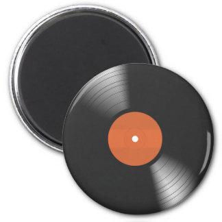 Vinyl Platte Runder Magnet 5,1 Cm