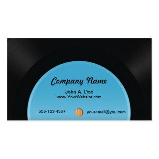 Vinyl Platte Visitenkarten