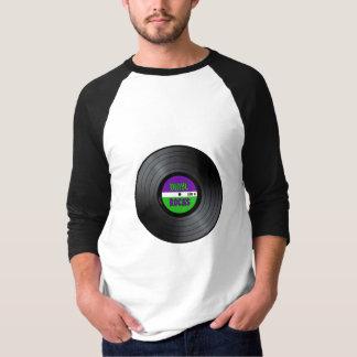 Vinyl schaukelt LP T-Shirts