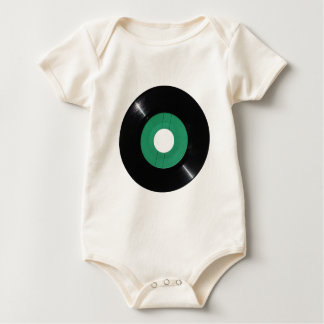 Vinylaufzeichnung transparentes png baby strampler
