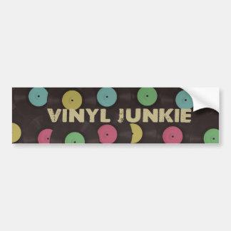 Vinyljunkie-Autoaufkleber Autoaufkleber