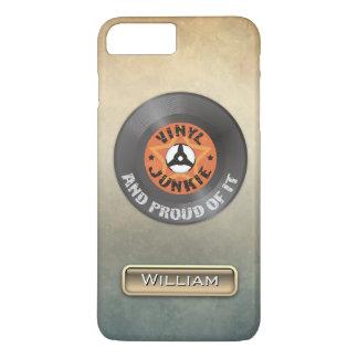 Vinyljunkie - und stolz auf es iPhone 8 plus/7 plus hülle
