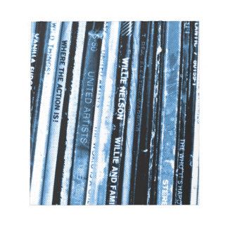Vinylleben Notizblock