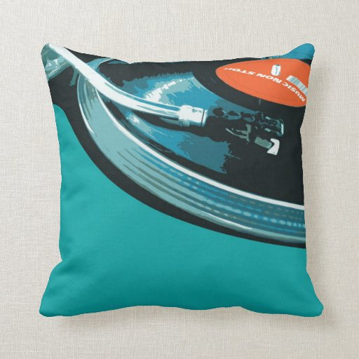 Vinylmusik-Turntable Kissen