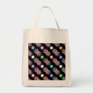 VINYLPlatten Lebensmittelgeschäft-Taschen-Tasche Einkaufstasche