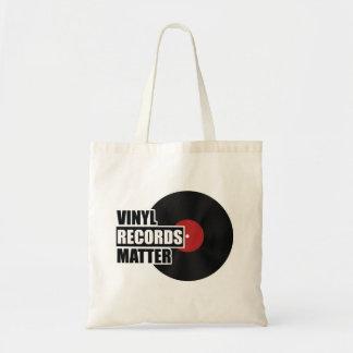 VinylPlattenen-Angelegenheits-Tasche Tragetasche