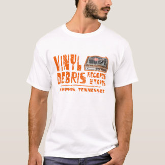 Vinylrückstand-Platten T-Shirt