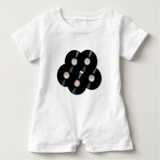 Vinylsammlung Baby Strampler