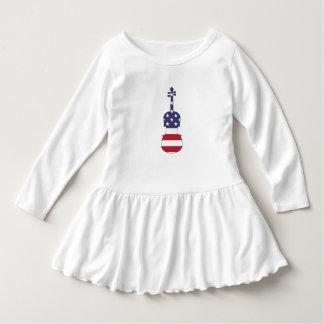 """Viola """"amerikanische Flagge """" Kleid"""