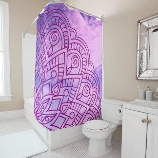violet an~ordnen pattern of sie an duschvorhang