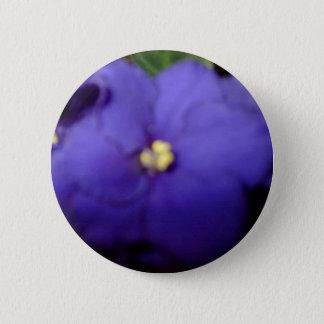 Violett Runder Button 5,7 Cm