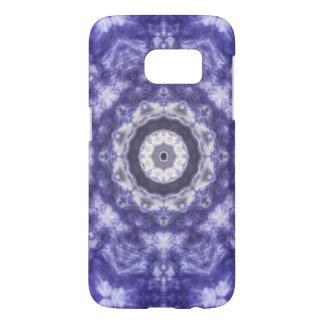 Violette blaue Spitze