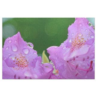 Violette Blume Stoff