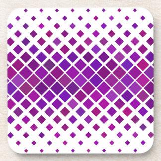 Violette Diamanten Untersetzer