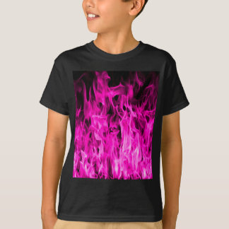 Violette Flamme und violette Feuerprodukte und T-Shirt